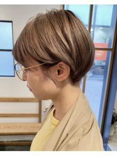 ハイトーンショートヘア